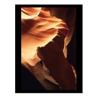Barranco del antílope, postal de Arizona