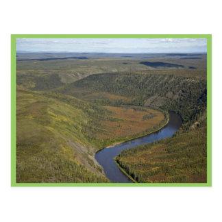 Barranco del río de Kanuti Postales