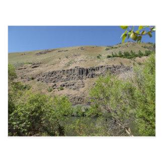Barranco del río de Yakima Tarjetas Postales