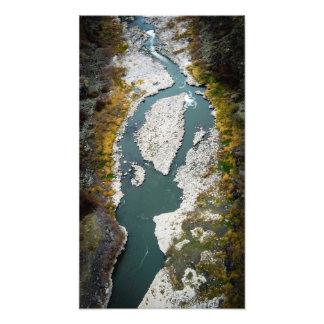 Barranco del río Snake Fotografía