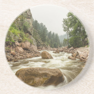 Barranco del sur el condado de Boulder Colorado Posavasos Personalizados