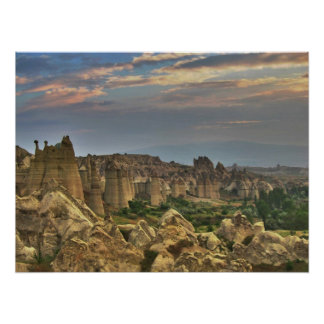 Barranco en Cappadocia Póster