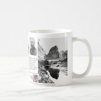 Barranco I de Zion - la geología promueve la taza