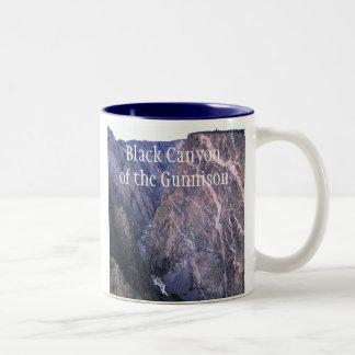 Barranco negro de la taza de Gunnison
