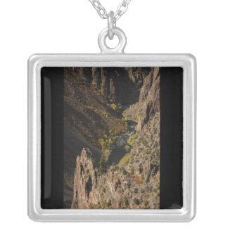 Barranco negro del Gunnison Colgante Cuadrado