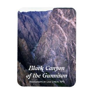 Barranco negro del imán de Gunnison