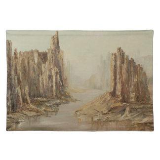 Barranco Placemat del desierto Mantel
