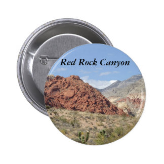 Barranco rojo de la roca, desierto de Mojave, cerc Pins