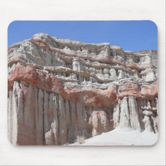 Barranco rojo de la roca alfombrilla de ratones