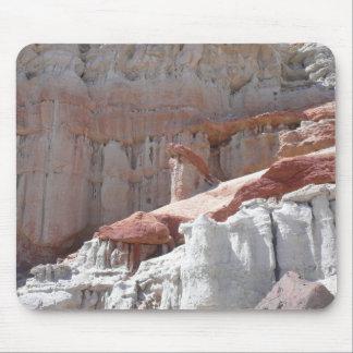 Barranco rojo de la roca alfombrilla de ratón