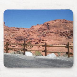 Barranco rojo Mousepad de la roca Alfombrillas De Ratón