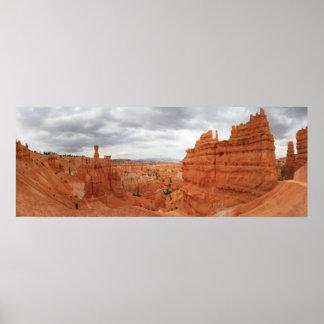 Barranco Utah Estados Unidos de Bryce del martillo Póster
