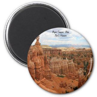 Barranco Utah, los E.E.U.U. de Bryce del martillo Imán Redondo 5 Cm