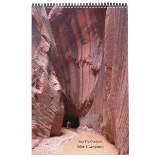 Barrancos 2012 de la ranura calendario