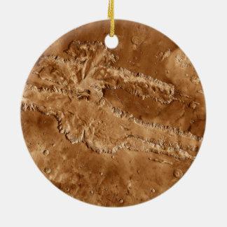 Barrancos de Valles Marineris de Marte Ornamento Para Reyes Magos