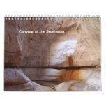 Barrancos del sudoeste calendarios de pared