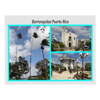 Barranquitas Puerto Rico Postcard