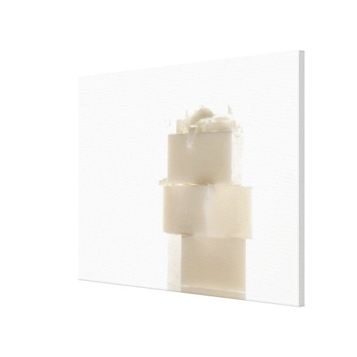 Barras 2 del jabón impresiones en lona