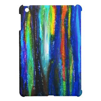 Barras azules (pintura del expresionismo abstracto iPad mini protector