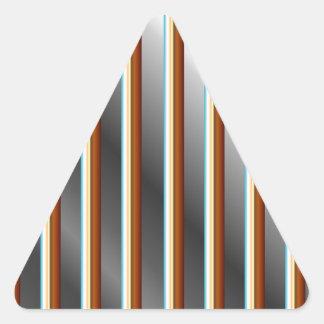 Barras de acero inoxidables del alto grado pegatina triangular
