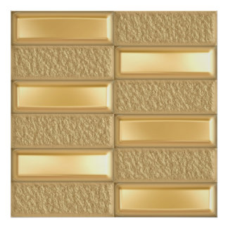 Barras de oro impresiones