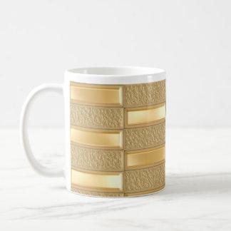 Barras de oro tazas