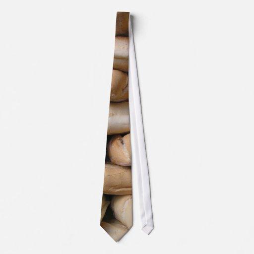 Barras de pan corbata