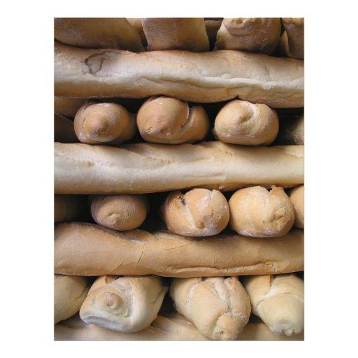 """Barras de pan folleto 8.5"""" x 11"""""""