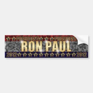 Barras y estrellas 2. de Ron Paul Etiqueta De Parachoque