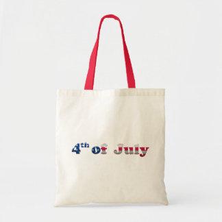 Barras y estrellas 4tas del bolso de julio bolsas