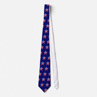 Barras y estrellas corbatas personalizadas