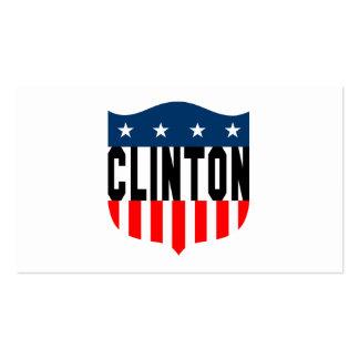 barras y estrellas de hillary Clinton Tarjetas De Visita