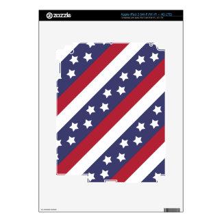 Barras y estrellas de los E.E.U.U. iPad 3 Skins