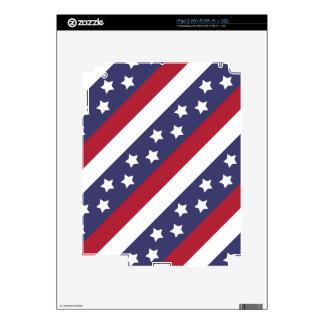 Barras y estrellas de los E.E.U.U. Skins Para eliPad 2