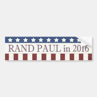 Barras y estrellas de Paul 2016 del rand Pegatina Para Auto
