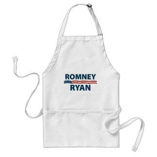 Barras y estrellas de Romney Ryan Delantal