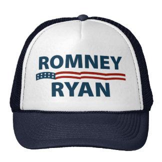 Barras y estrellas de Romney Ryan Gorro De Camionero