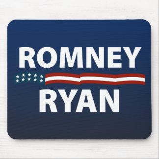 Barras y estrellas de Romney Ryan Tapete De Raton