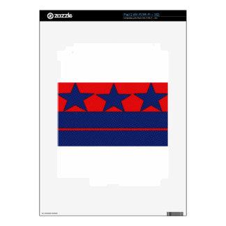 barras y estrellas effect.jpg calcomanías para iPad 2