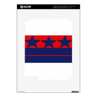 barras y estrellas effect.jpg iPad 3 pegatinas skins