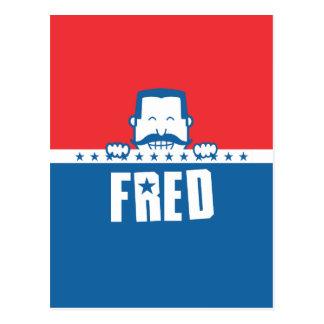 Barras y estrellas Fred Postal