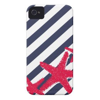 Barras y estrellas iPhone 4 Case-Mate cárcasa
