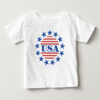 Barras y estrellas patrióticas de los E.E.U.U. Tshirt