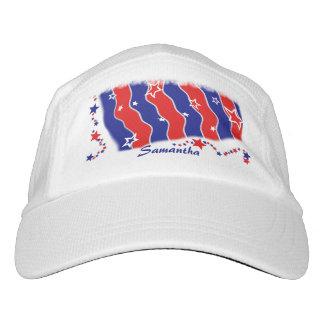 Barras y estrellas personalizadas gorras de alto rendimiento