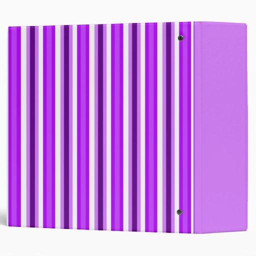 "Barras y estrellas púrpuras 2"" carpeta"