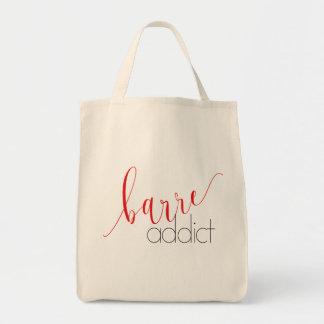 Barre Addict Class Tote Bag