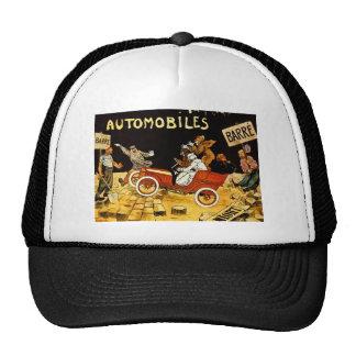 Barre Automobiles - Vintage Advertisement Poster Trucker Hat