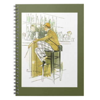 Barre el ~ inglés Pedro Vidal de la barra del ~ de Cuadernos