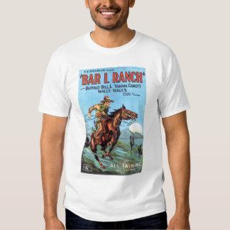 """Barre L camiseta 1930 del cartel de película del Camisas"