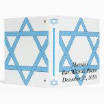 Barre la carpeta del álbum de foto de Mitzvah/de M